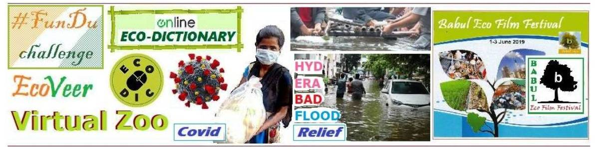 Fund Environmental Awareness Activities & Covid Relief