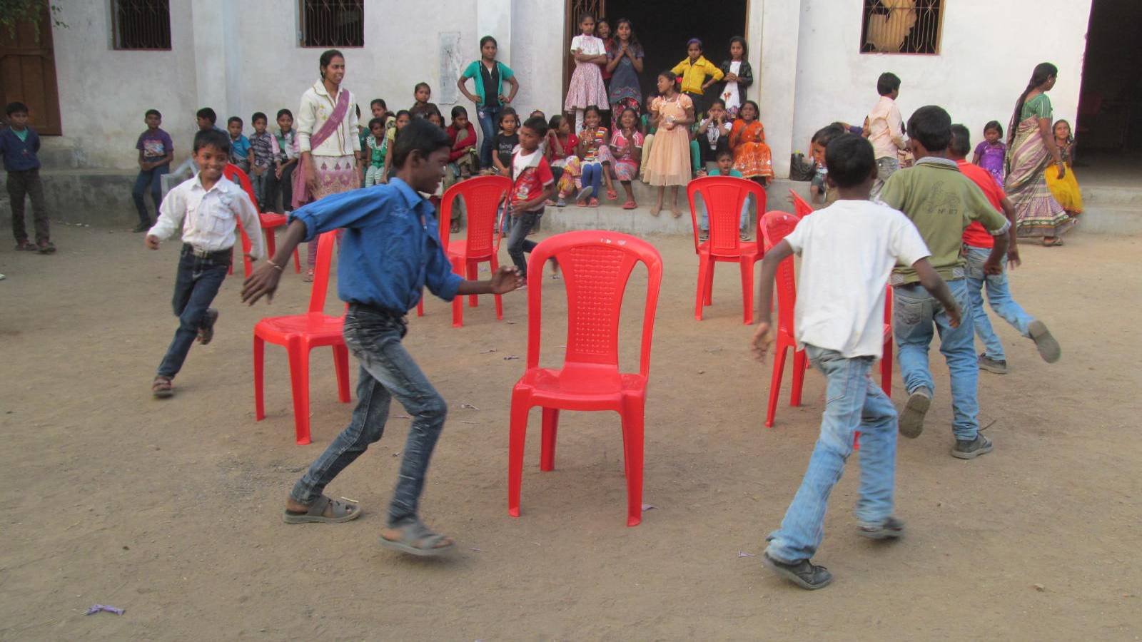 Sports competition in rural and interior area children