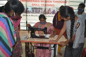 An initiative for Empowering Women with Skill Training