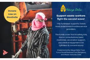 Support waste workers - India's most underrepresented frontline workers
