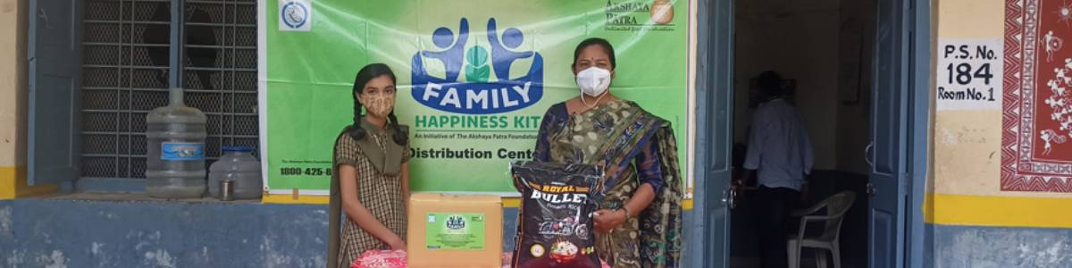 Family Happines Kit - Dry Ration for the Covid affected families