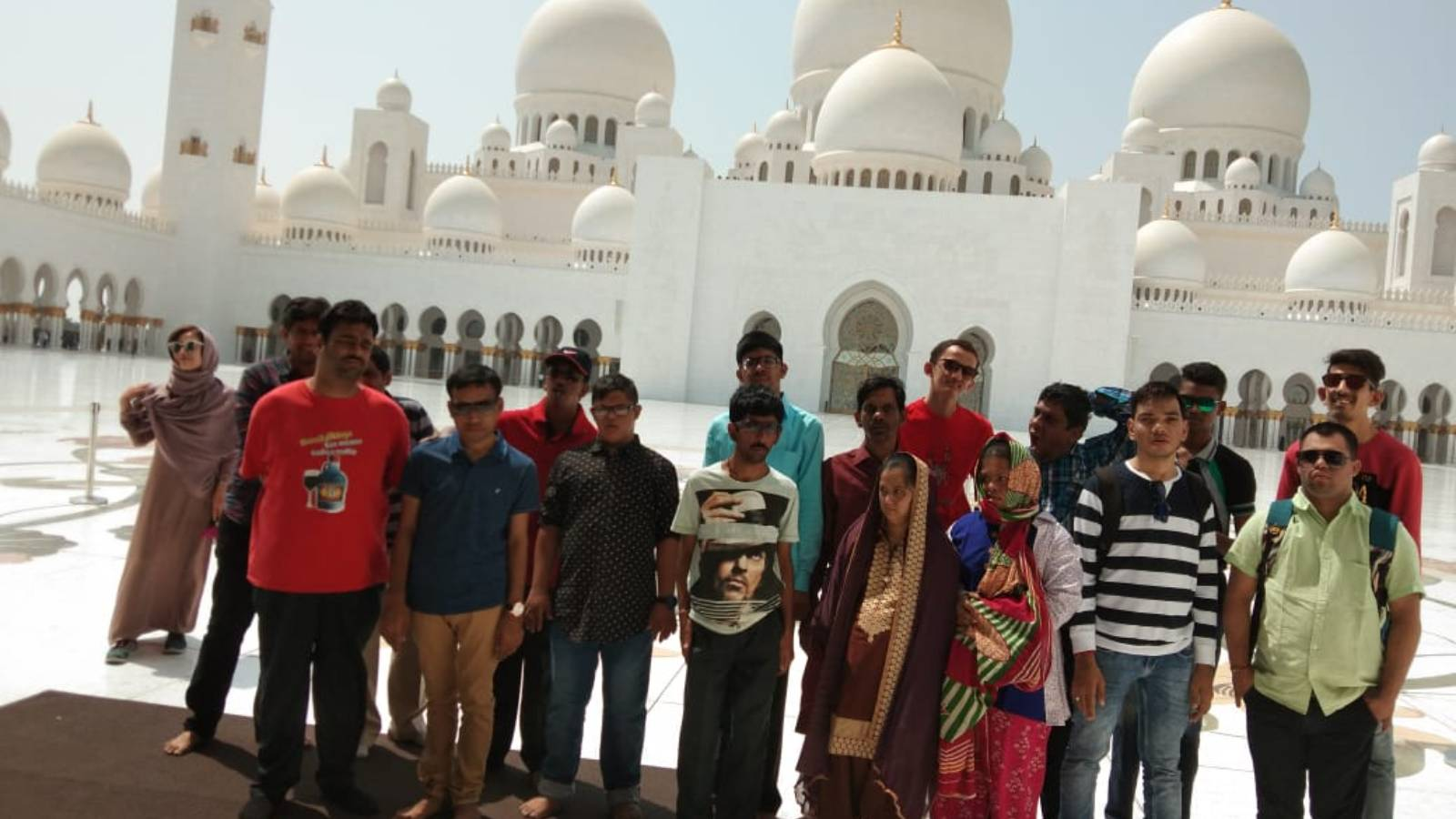 A Visit to Sheikh Zayed Mosque