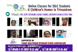 EDU SAATHI – Learning Partner (for the children in Child Care Institutions in Trivandrum Kerala)