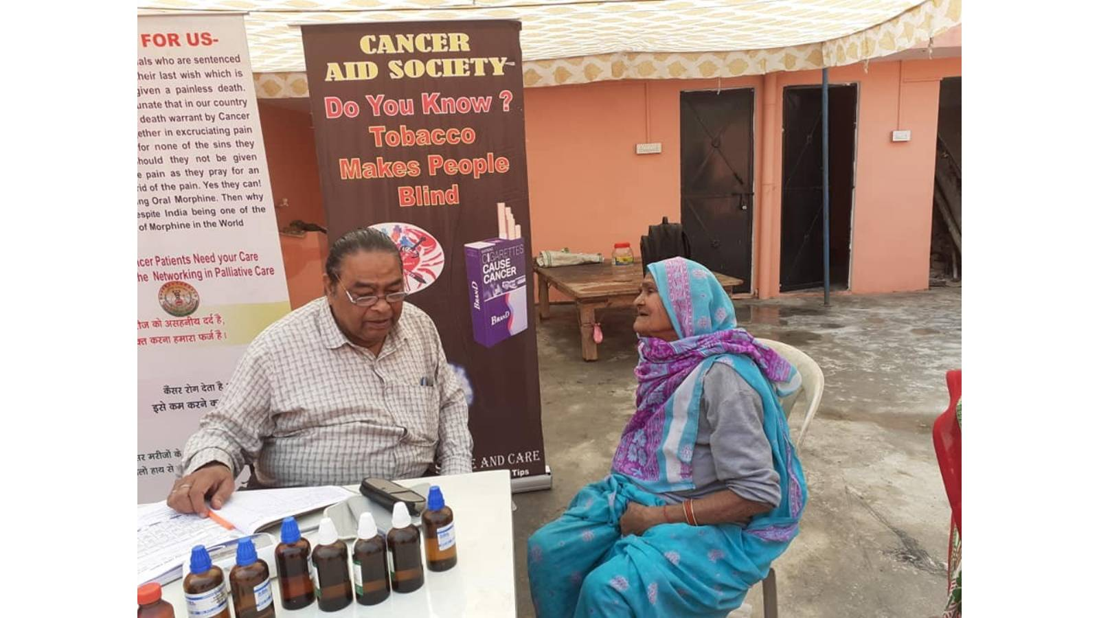 HEALTH CHECK UP CAMP AT MALIHABAD