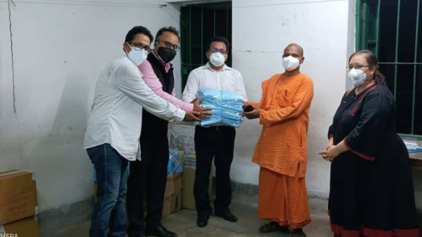 Build isolation center for COVID infected rural population