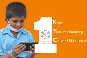 Help Rural India Learn... with 1-KYC
