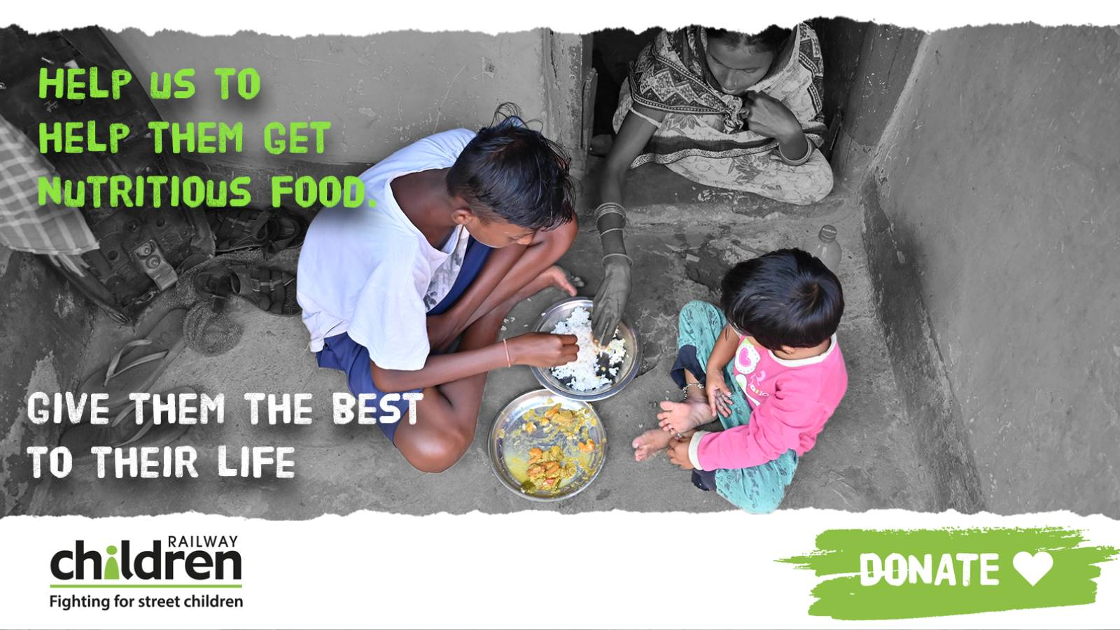 Help a mother feed her child with nutritious food in this pandemic.