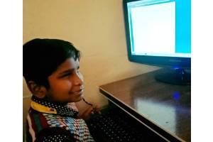 Android Mobile Distribution and training to 100 Visually Impaired Students for accesible online education