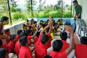 Conservation awareness and environmental education to save tigers, elephants and other wildlife