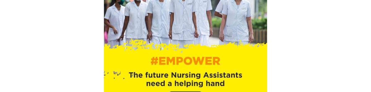 To provide skill development training in healthcare sector to rural youth, aiming to empower them by skilling and enabling employment in the healthcare sector as Nursing Assistant.