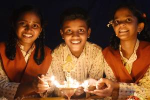 Light a lamp in a rural child's life...