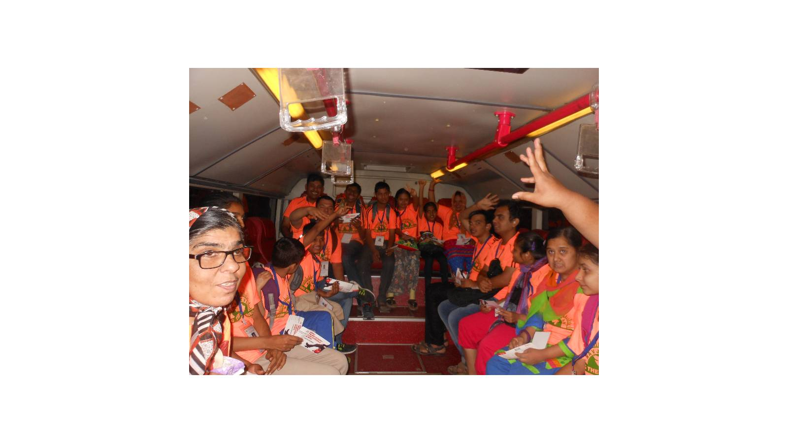 we have provided An Air Trip for our Mentaly Challenged children.