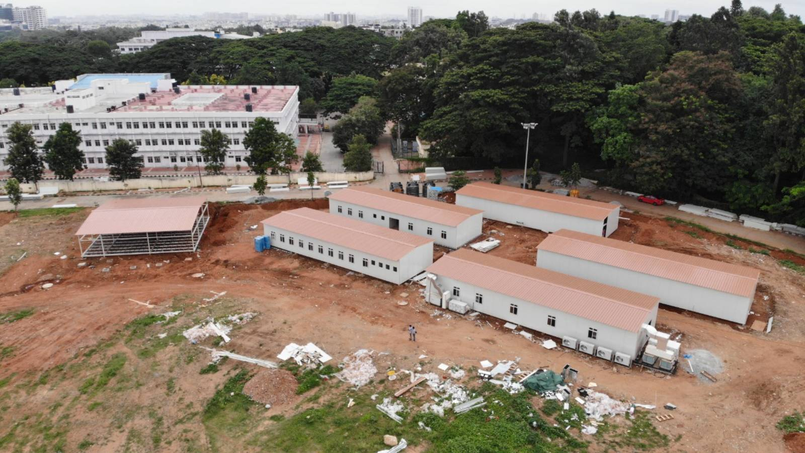 Get us to the finish line of completing a 90-bed hospital for Government of Karnataka