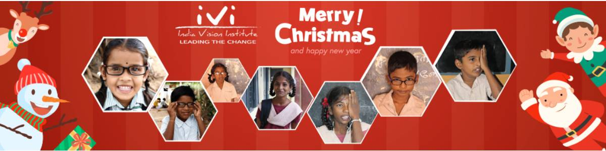 Be the vision Santa this Christmas! Spread the light among visually impaired underprivileged children.