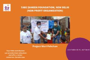 Meri Pehchan- Providing basic education and books to unprivileged boys and girls