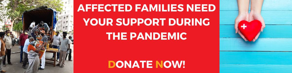 Support Affected Families During The Pandemic