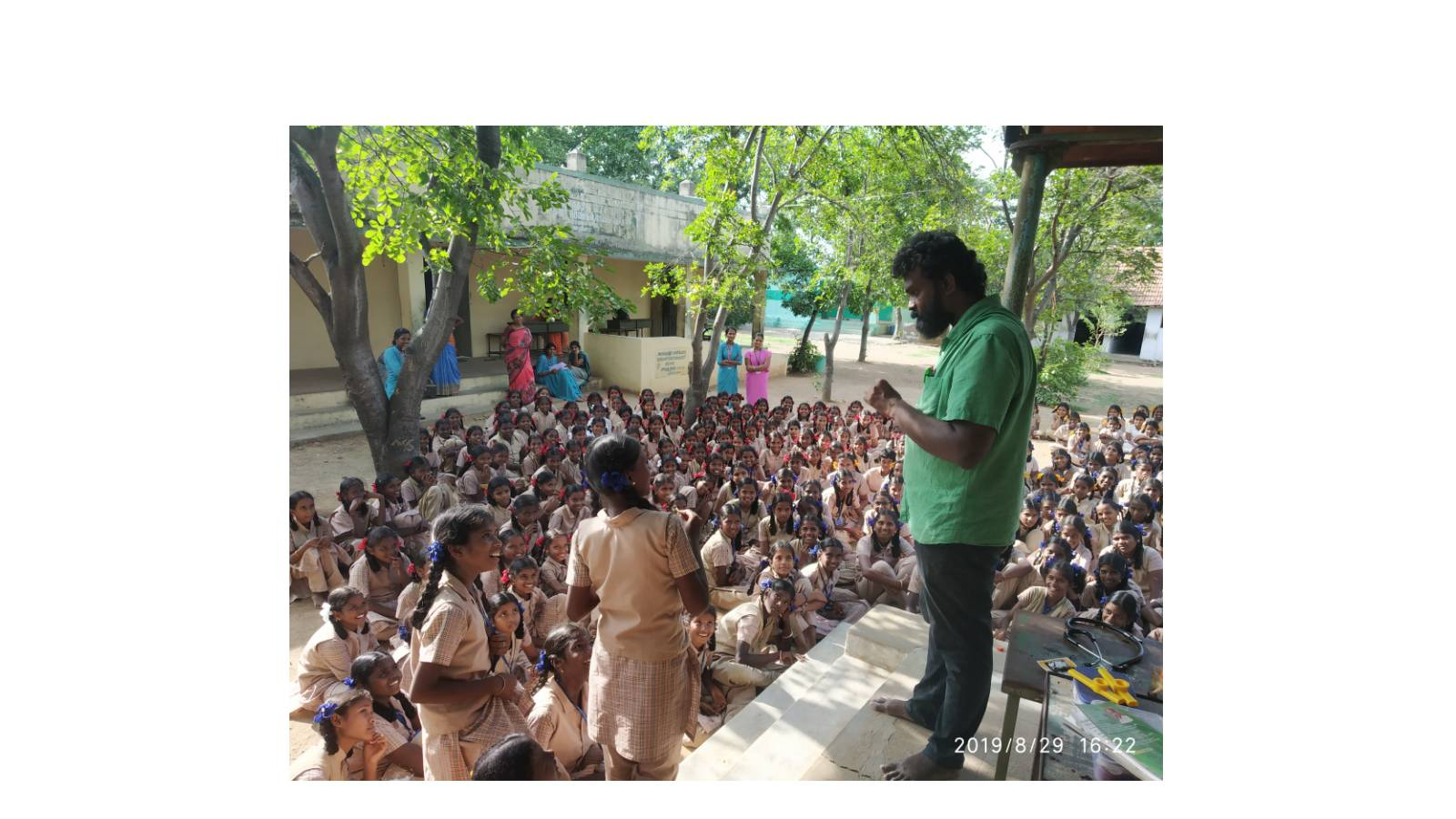 Made in Villages to Perform Globally -Mobile Science Van - VIGYANRATH   - Practical Science Demonstrations