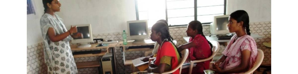 Help  a dropout adolescent girl to learn computer skills for 6 months