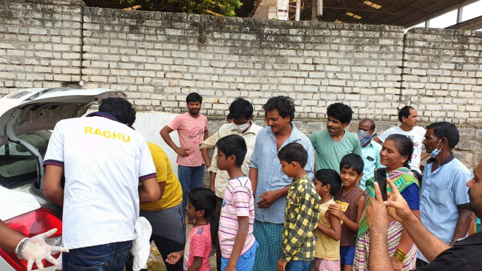 Snap from Mission Zero Hungry Project