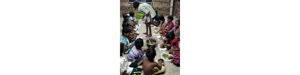 Feed Nomadic Children to Help them Fight the Pandemic