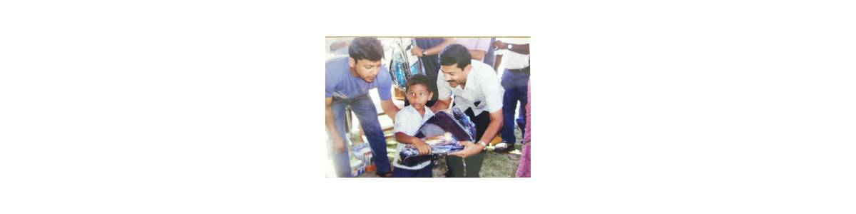 EDUCATIONAL SUPPORT TO POOR CHILDREN