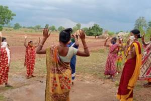 Covid-19 Support in rural and tribal areas through PHCs and CHCs