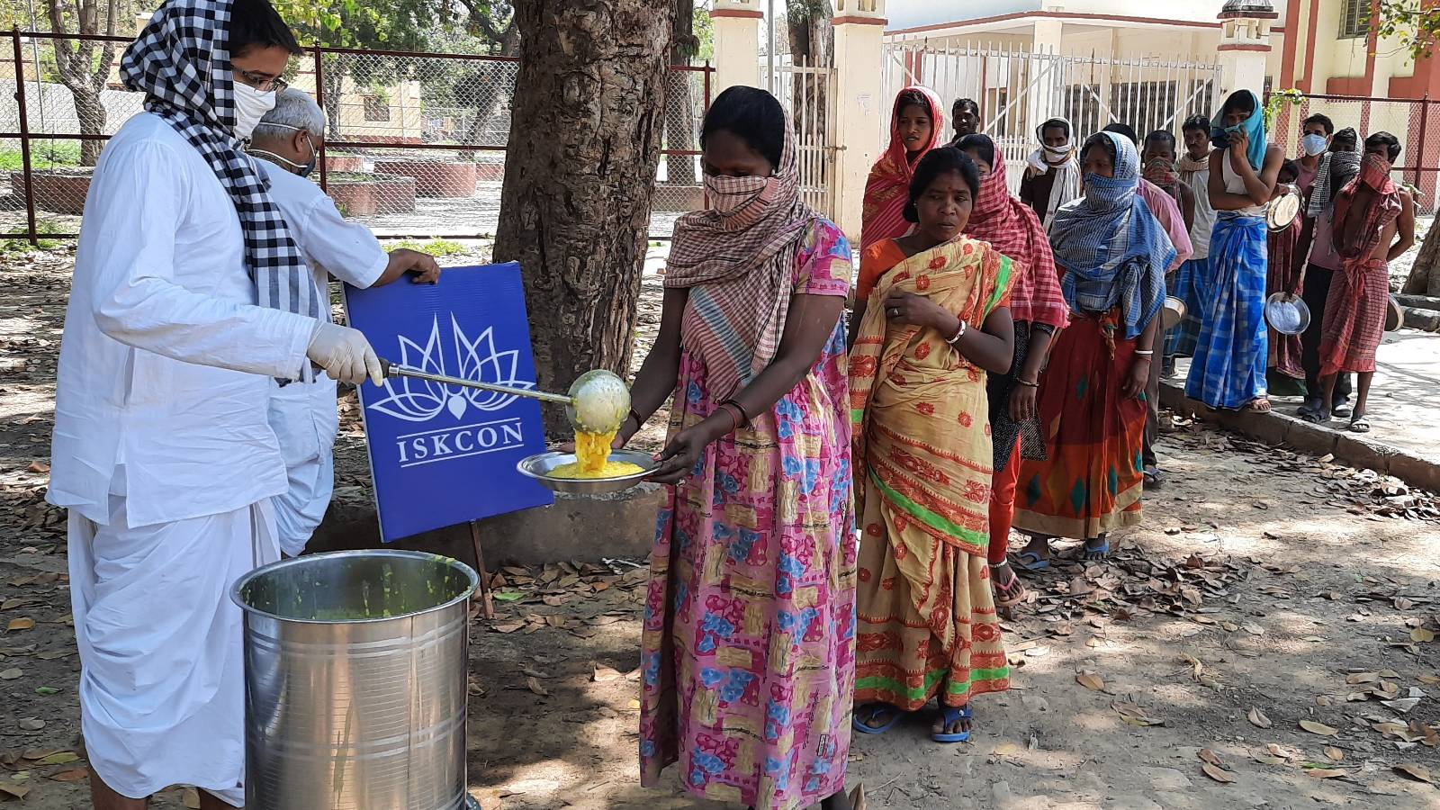 Food Distribution in COVID