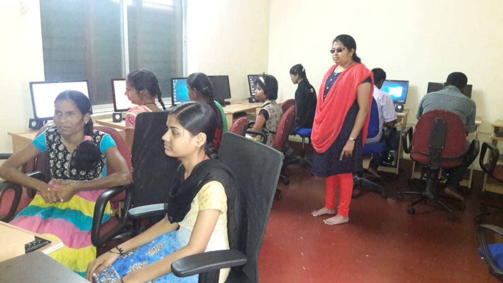 Computer Lab for Visually challenged