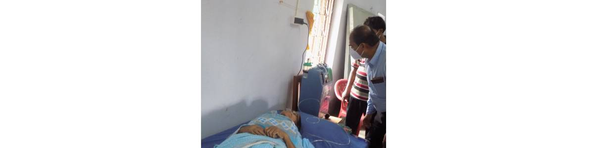 Mukti Covid Care Unit - To support the needy people