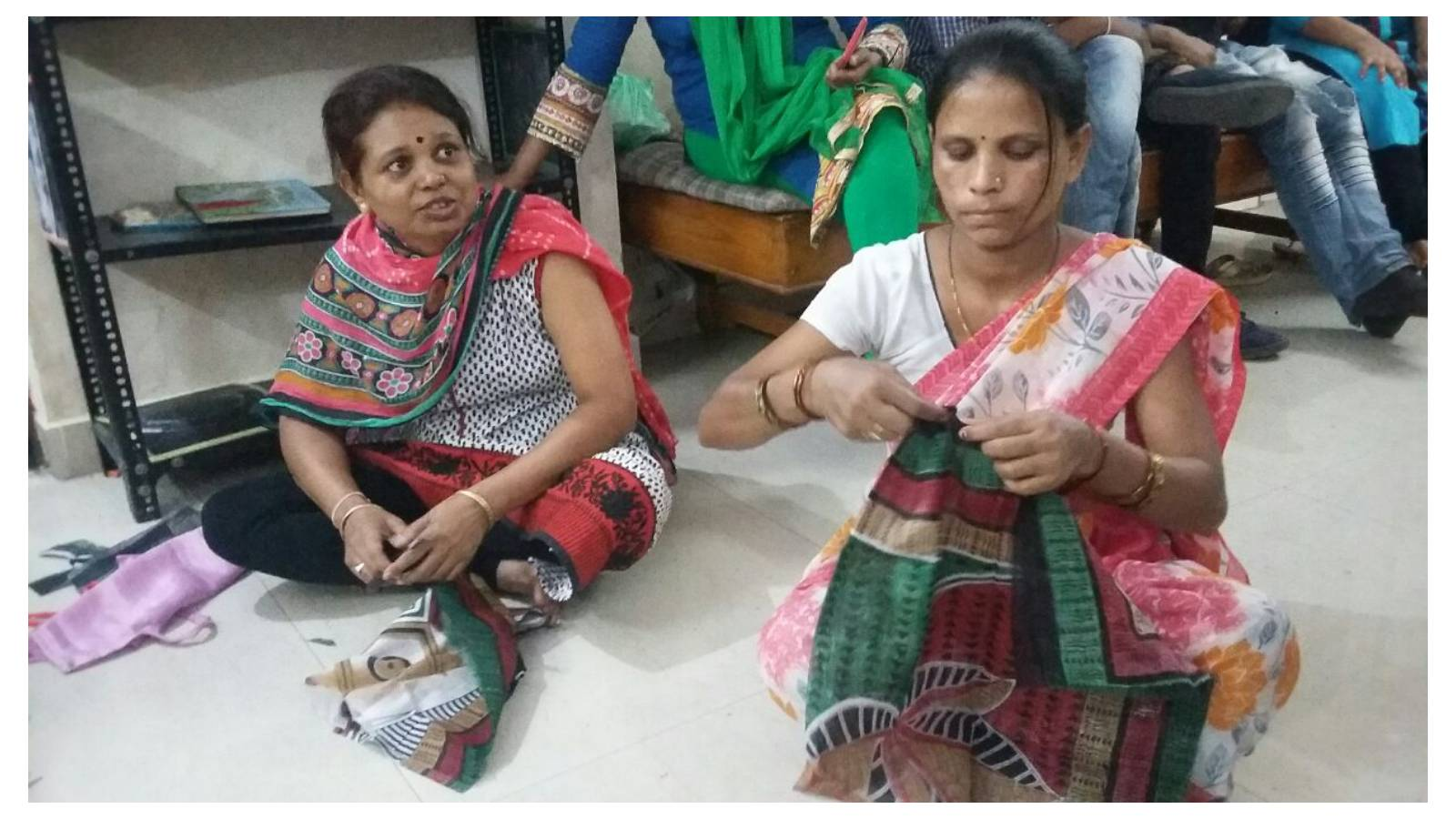 Employment bag making classes for women