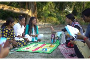Help rural young women and girls to access essential health services