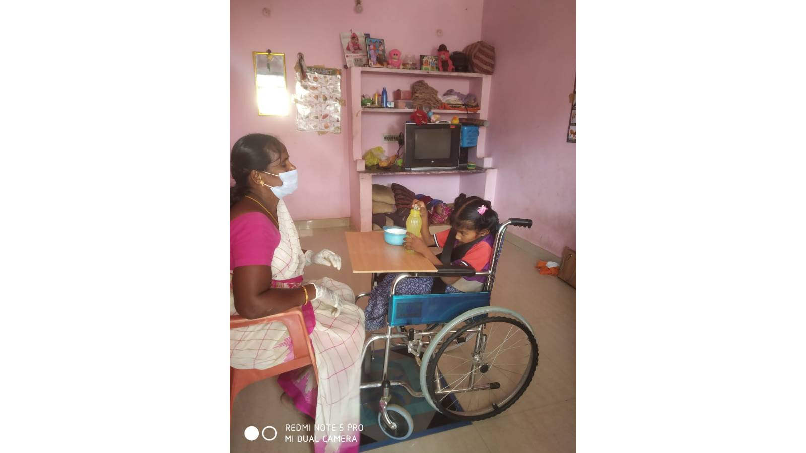 Lifeline Special School for the Children with Cerebral Palsy with Mental Retardation.