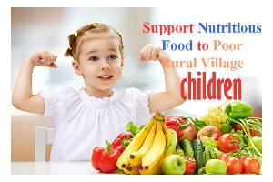 Support Nutritious food to Poor Rural Village Child