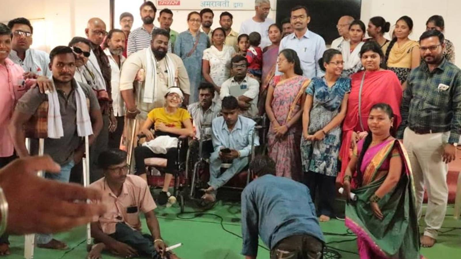 Life skill workshop for physically challenged