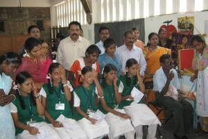 Tribal School Children Eye Screening cum Spectacle Distribution