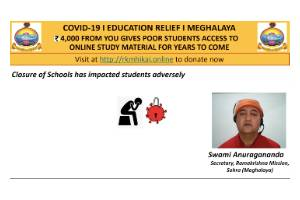 Online Education for Students hit by COVID19 Lockdown in Meghalaya
