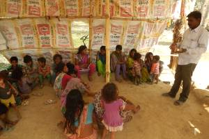 Educating the Children of the Rag Pickers Reaching Out to their Settlement Areas