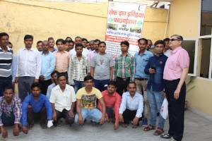 Join Hands to Save Hands: Assist injured migrant workers