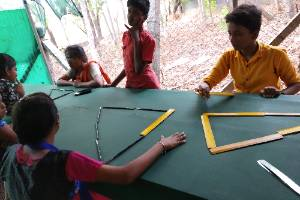 STEM  through transformative arts program for the underprivileged learners and educators