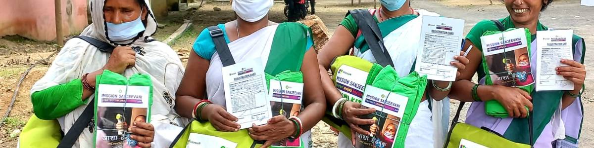 Equipping Asha Workers To Battle Covid-19 in Rural India
