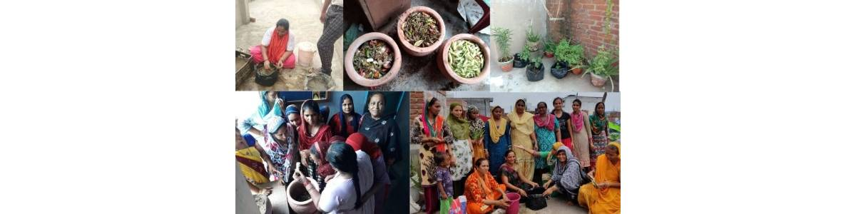 To Improve Health and Sanitation Conditions of Urban Poor Community by Solid Waste Management and Inculcating Green Practises in Day-To-Day LivesIn slums of Ahmedabad, Gujarat