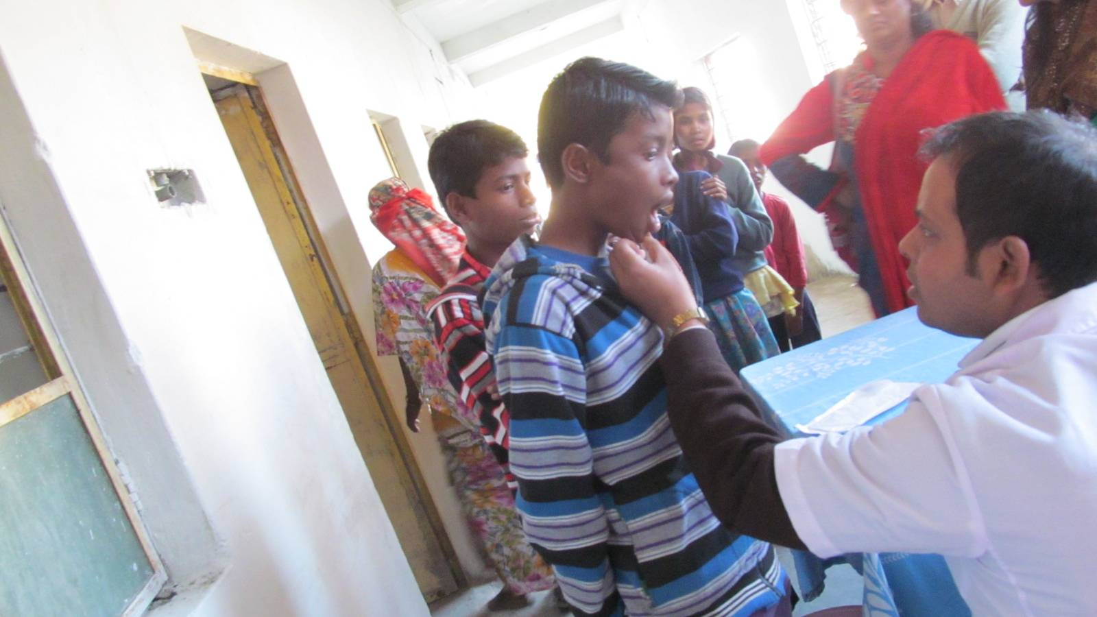 Dental check up of street and orphan children
