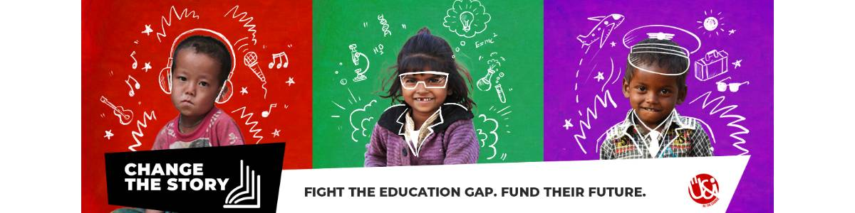 Change The Story - Fight The Education Gap