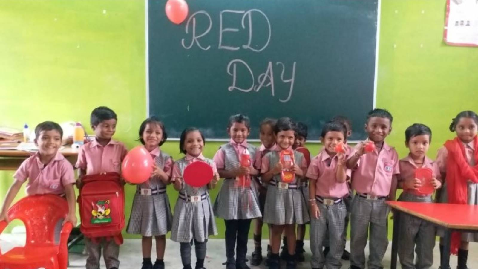 celebrations with Rural and vulnerable area children