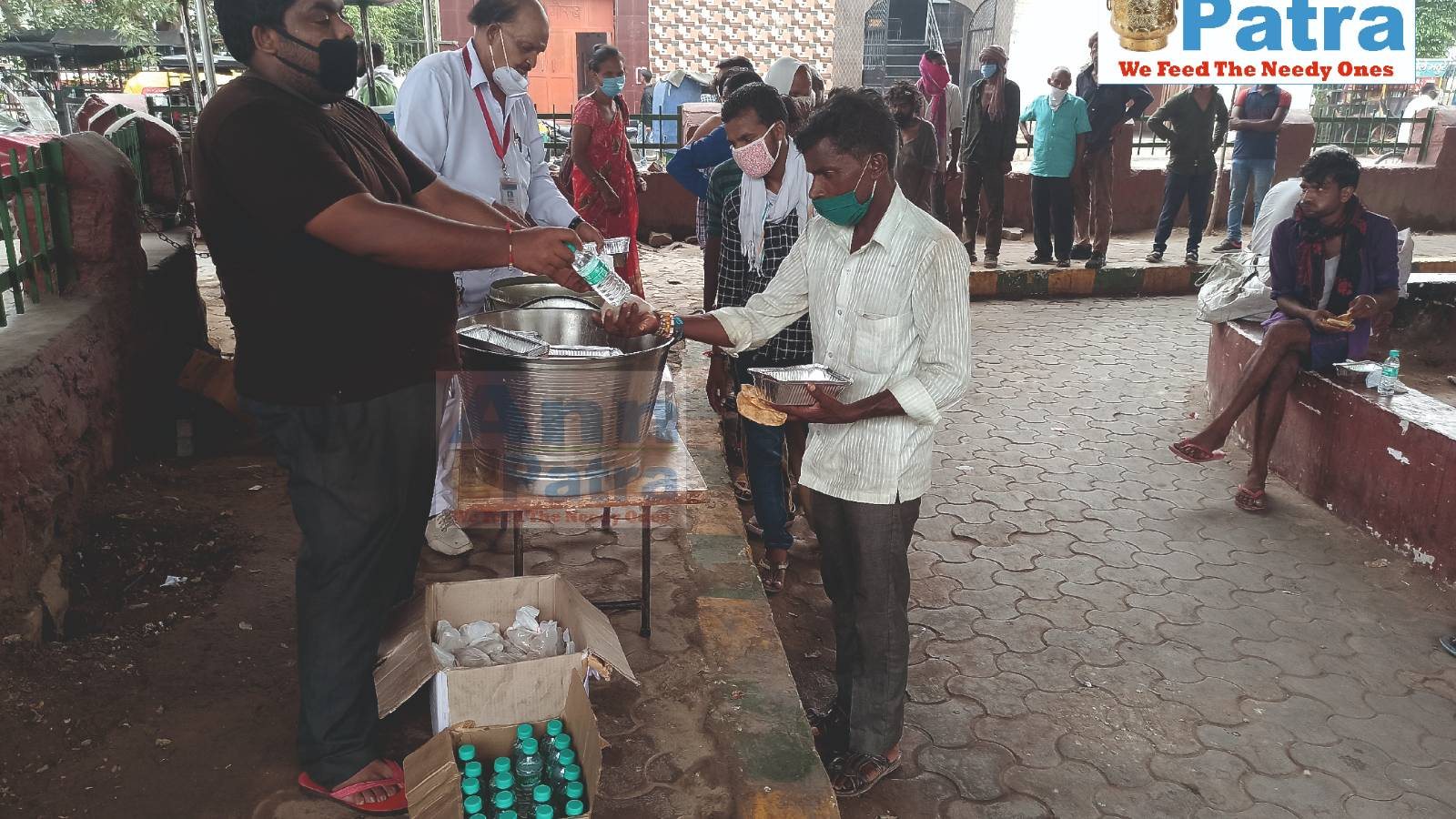 Distribution of Food to Needy ones