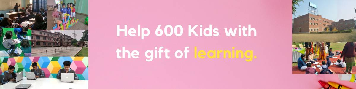 Help 600 children affected by COVID19 with the gift of education