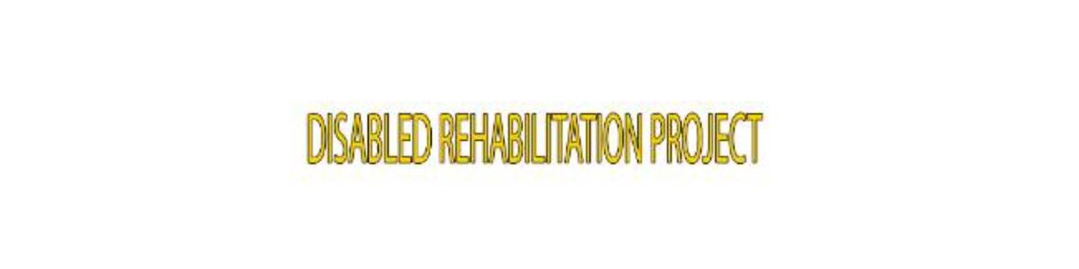 Disabled Rehabilitation Programme