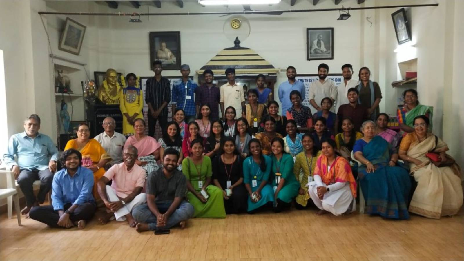 GPF volunteers meet