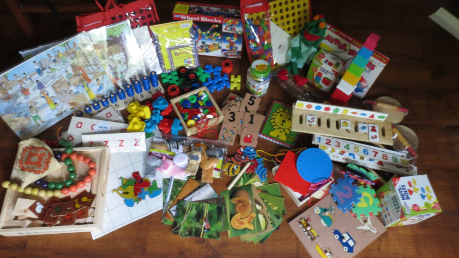 Early Childhood Kit given to every school