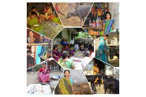 """""""Improving Living Conditions of  Farm Widows through livelihood promotion at Warangal Urban and Rural District"""""""